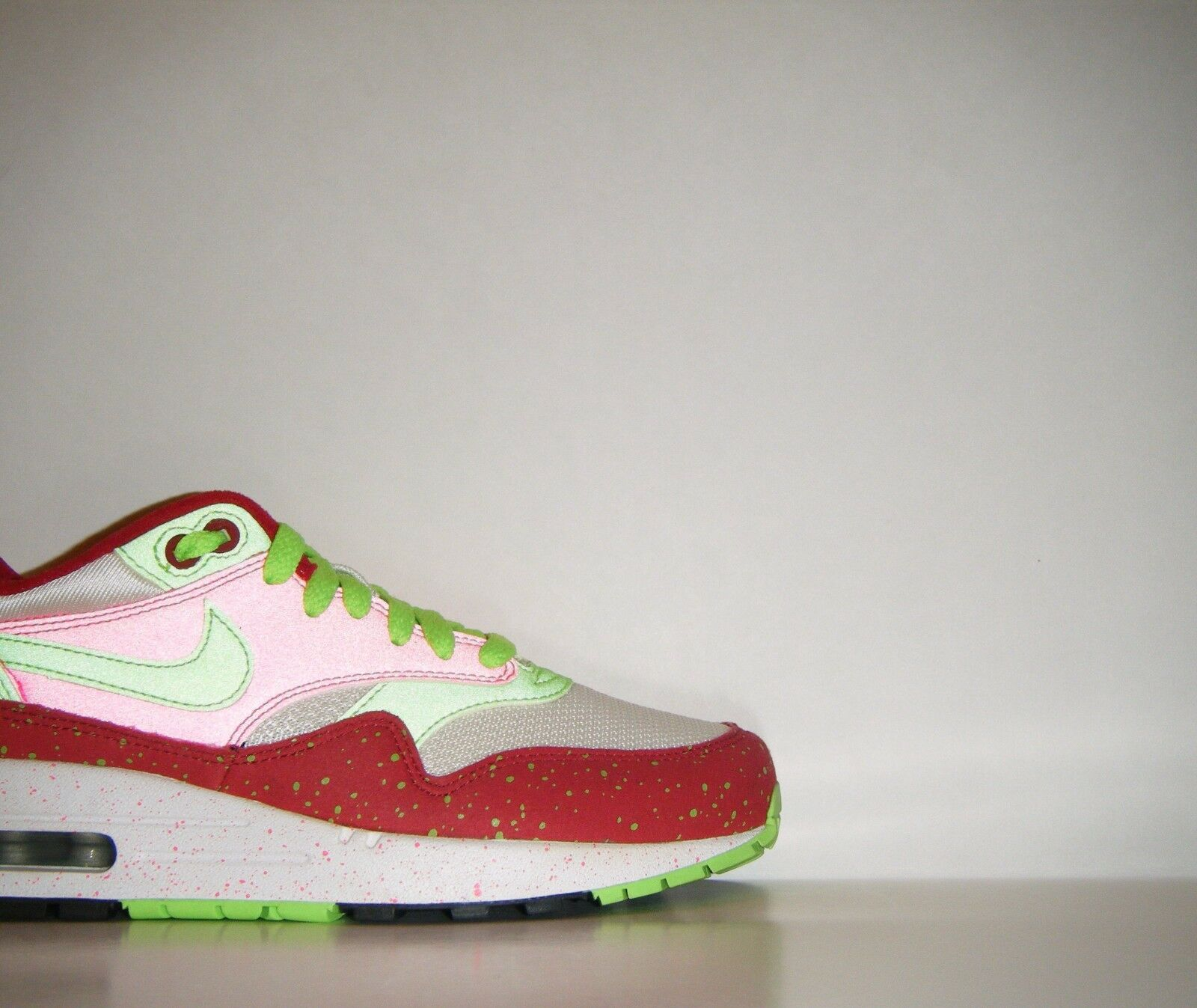 Nike Air Max 1 Premium ID 3M Pink Pride Promo Sample SP Sz. 7  BETRUE Powerwall