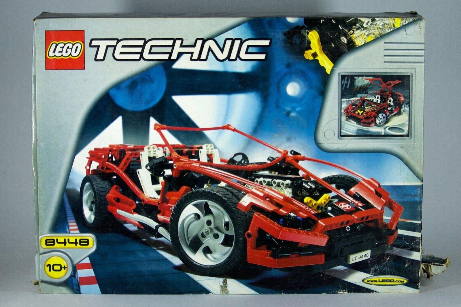 Lego Technic Super Street Sensation 8448 Abierto Caja Sellada Piezas Pegatinas falta