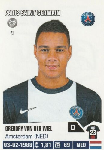 2014 PARIS a choisir STICKERS IMAGE PANINI FOOT 2013