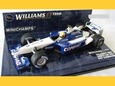 Figurine Pilota Ralf Schumacher 1998 1:18 Model MINICHAMPS