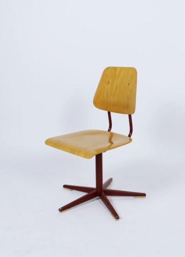 altezza regolabile SCUOLA sedie da embru VINTAGE 1960/' SWISS MADE