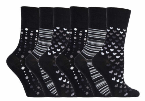 Ladies Breathable Gentle Grip Loose Soft Top Non Elastic Bamboo Socks Honeycomb