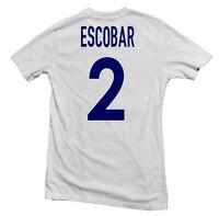 Colombia Los Cafeteros Legend Tee: Andrés Escobar Four11 Designs