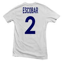 Colombia Los Cafeteros Legend Tee: Andrés Escobar Four11 Designs