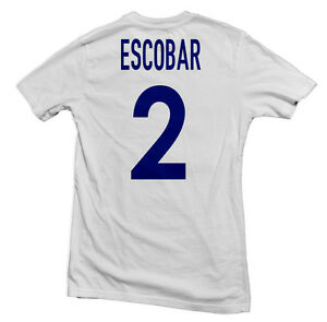 8f1ddd95c Image is loading Colombia-Los-Cafeteros-Legend-Tee-Andres-Escobar-Four11-