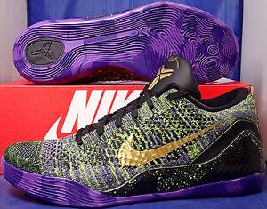 9274e9a9754c Nike Kobe IX 9 Elite Low Flyknit iD Mamba Moments SZ 11 ( 677992-998 ...