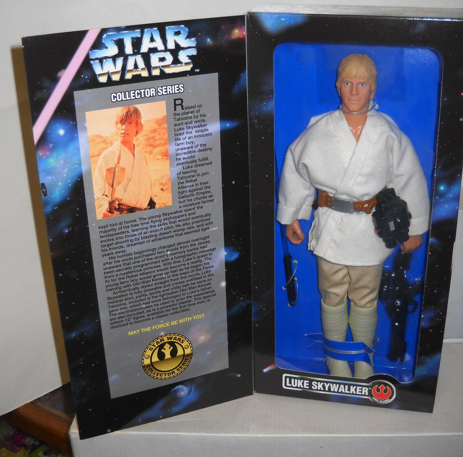 NRFB Kenner Star Wars 12    Luke Skywalker Action Figure ac0dfb
