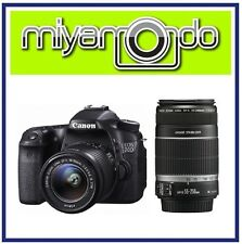 Canon EOS 70D 18-55mm + 55-250mm Twin Kit