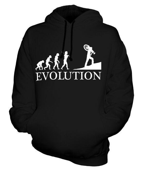 CYCLOCROSS EVOLUTION OF MAN UNISEX HOODIE  Herren Damenschuhe LADIES GIFT BIKE