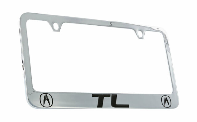 Dodge Durango Chrome Plated Brass Metal License Plate Frame Holder