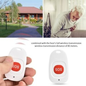 Waterproof-433MHZ-Wireless-SOS-Button-Emergency-Alarm-Burglar-Alarm-For-Older