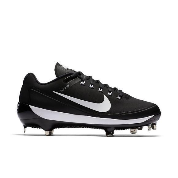 Nike Men's Air Clipper '17 Baseball Cleat, Black/White, 14 D US