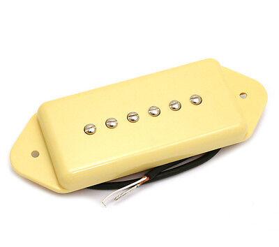 Cream Dogear P90 Style Bridge Guitar Pickup for Gibson/Epiphone® PU-P9D-BC