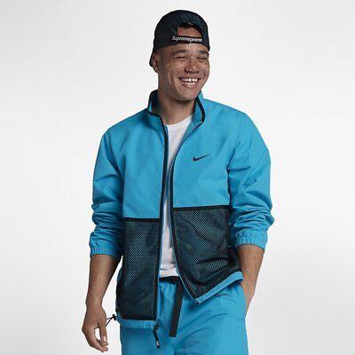 Inquieto Mago preposición  Nike x Supreme Trail Running Jacket Blue XS box logo cdg bogo fw17 nikelab  qs | eBay