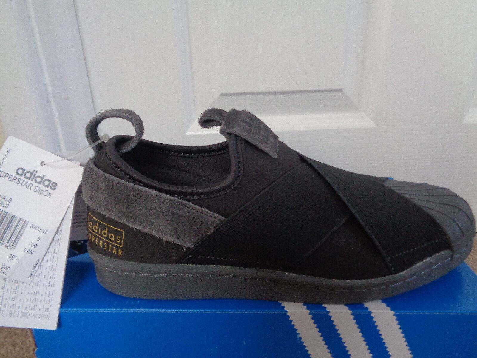 Adidas Superstar SLIPON  Uomo Scarpe BZ0209 EU 39 1/3 US 6.5 NUOVE