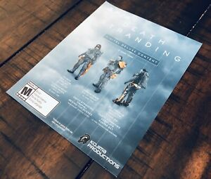 Death-Stranding-Digital-Deluxe-Content-PS4-Collector-039-s-Edition-DLC-Slip-NO-GAME