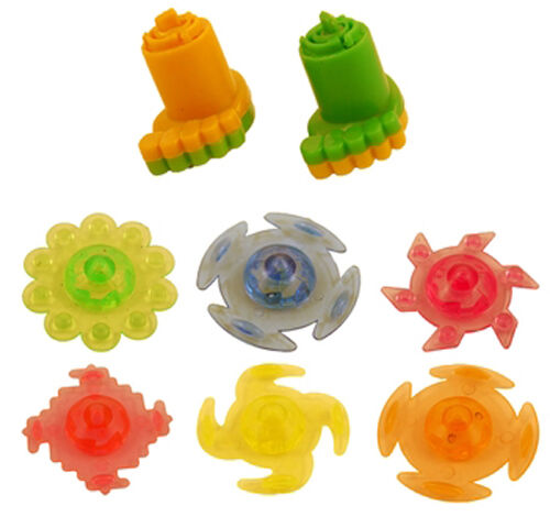 Party Bag Filler Battle Spinning Tops and Launcher