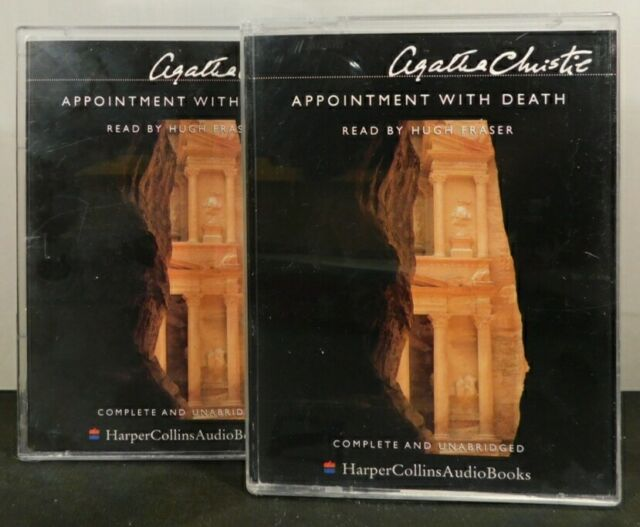 Agatha Christie. Appointment with Death. Cassettes.
