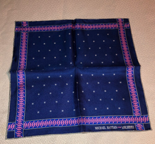 Michael Bastian Mens Pocket Silk Scarf