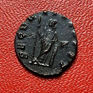 4286-RARE-Romaine-Antoninien-Gallien-belle-qualite-FACTURE
