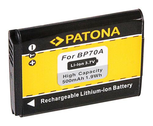 Batteria Patona 3,7V 500mAh per Samsung BP-70A