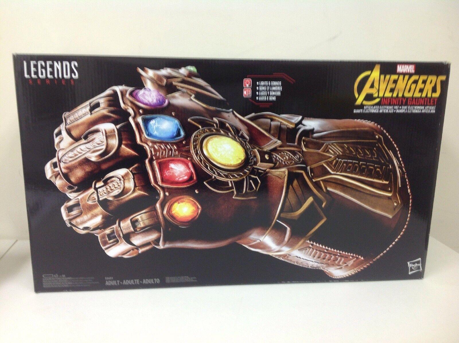 Marvel legends series avengers unendlichkeit spießrutenlauf für elektronische faust artikuliert.