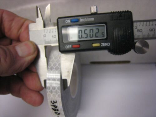 "3M White 3930 High Intensity Prismatic Reflective  Tape 1//2/"" X 50 feet"