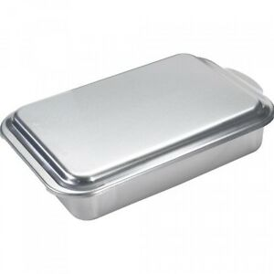 Covered Cake Pan Classic Metal 9x13 Nordic Ware New