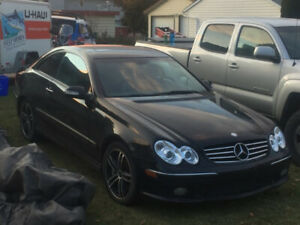 Mint Mercedes CLK 500 V8,    AMG RIMS MUST SELL    TODAY