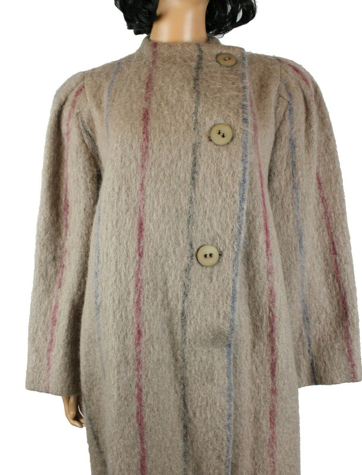 Designer Coat Sz 8 M Vintage 80s Pauline Trigere … - image 3