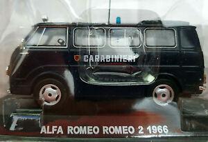 Alfa-Romeo-Romeo-2-1966-Carabinieri-Scala-1-43-Atlas-Nuovo