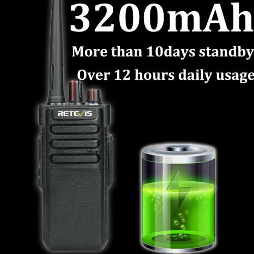 Retevis RT29 Walkie Talkies 10W Radio UHF VOX Scan Scrambler 3200mAh long Range
