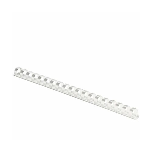 Free Shipping Fellowes Plastic Comb Binding Spines 1//2 Inch Diameter White 90..