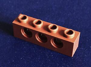 Holes Bricks ~ Lego ~ NEW 8 ~ 1x4 Yellow Technic Brick w// 3