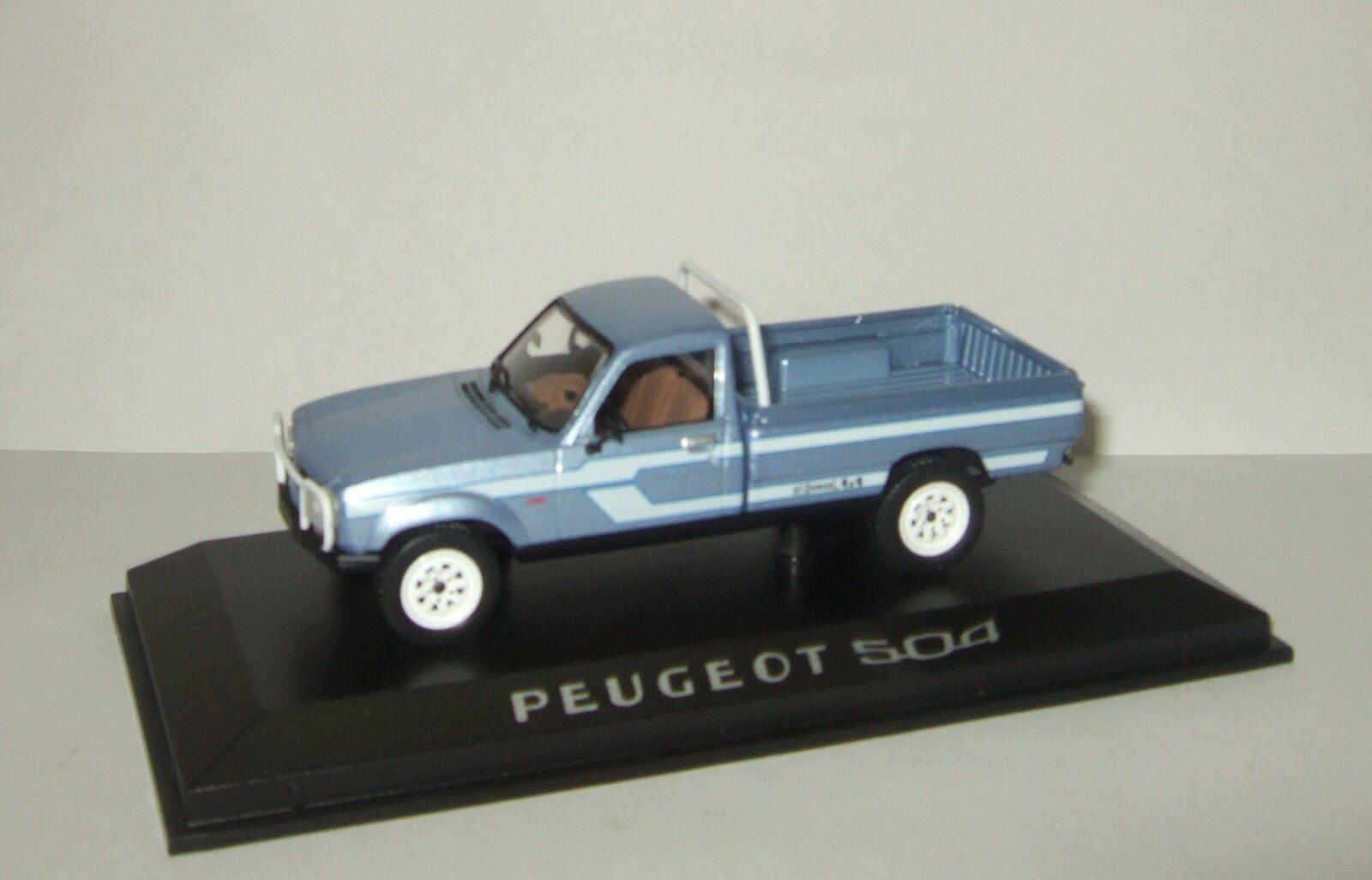 1 43 Norev Peugeot 504 4x4 Pick-up Dangel California 1985 475451