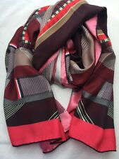 Paul Smith Women Scarf Fontana Strip Made In Italy RRP£160