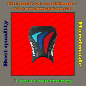 Design-Front-Seat-Cover-BMW-S1000RR-12-14-034-M-Power-034-black-red-blue-sky-white