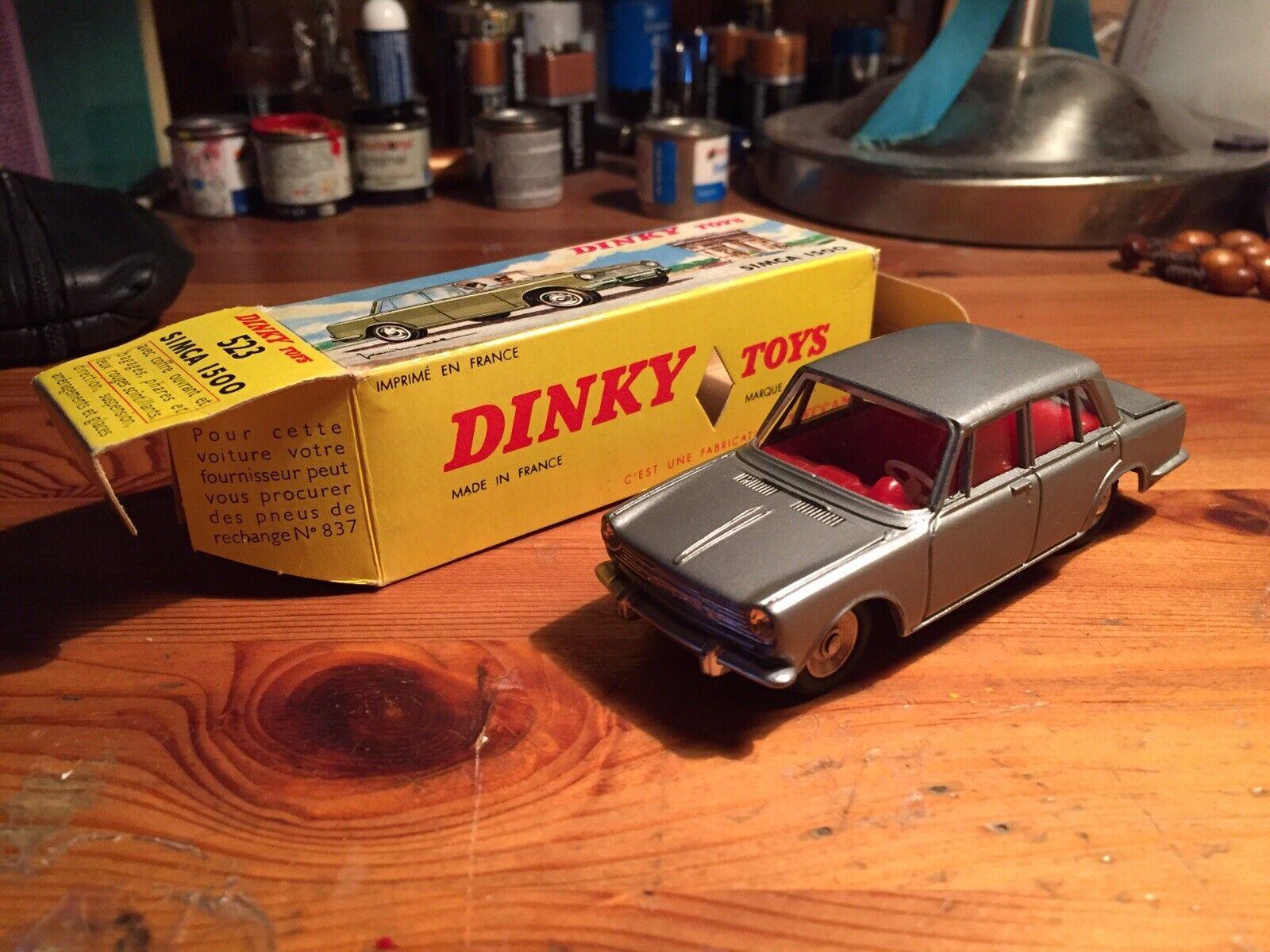consegna diretta e rapida in fabbrica Dinky giocattoli Simca 1500   Ref Ref Ref  523  consegna gratuita e veloce disponibile