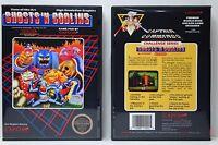 Ghosts And Goblins - Nintendo Nes Custom Case - No Game
