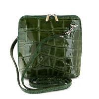 Italien Echt Leder Schultertasche Frauen Damen Tasche Handtasche Ital Bag