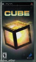 Cube (sony Psp, 2007) Factory Sealed