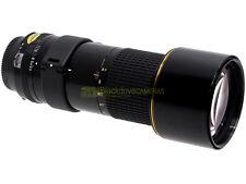 Nikon AI-S Nikkor 300mm. f4,5 ED IF, utilizzabile su digitali. Garanzia 12 mesi.