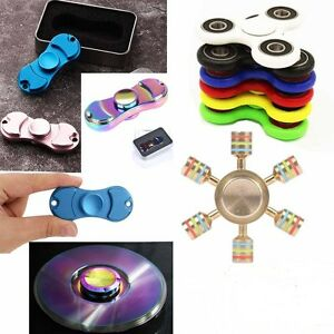 Fidget-Finger-Spinner-Hand-Focus-Ultimate-Spin-Steel-EDC-Bearing-Stress-toy-MIX
