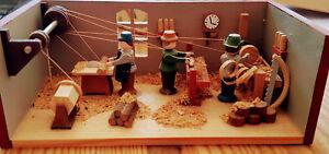 Miniature seiffener drehwerk-Original Artisanat d&#039;art de la les Monts Métallifères  </span>
