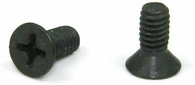 Qty 250 Black Oxide Stainless Phillips Pan Head Machine Screw  2-56 x 1//2