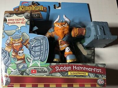 Little Tikes Kingdom Builders Sledge Hammerfist Action Figure