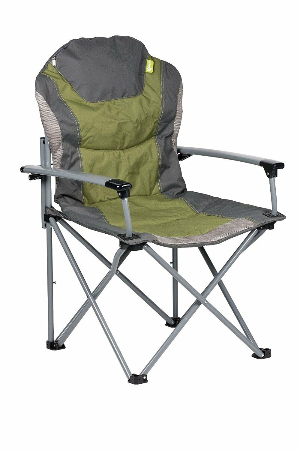 GUV'NOR FOLDING LIGHTWEIGHT CAMPING ARMCHAIR seat foldable GREEN  chair  simple and generous design