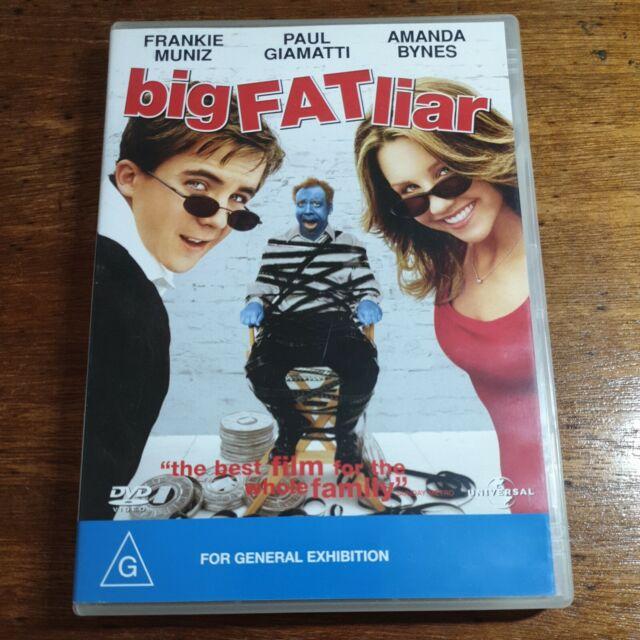 Big Fat Liar DVD R4 LIKE NEW FREE POST