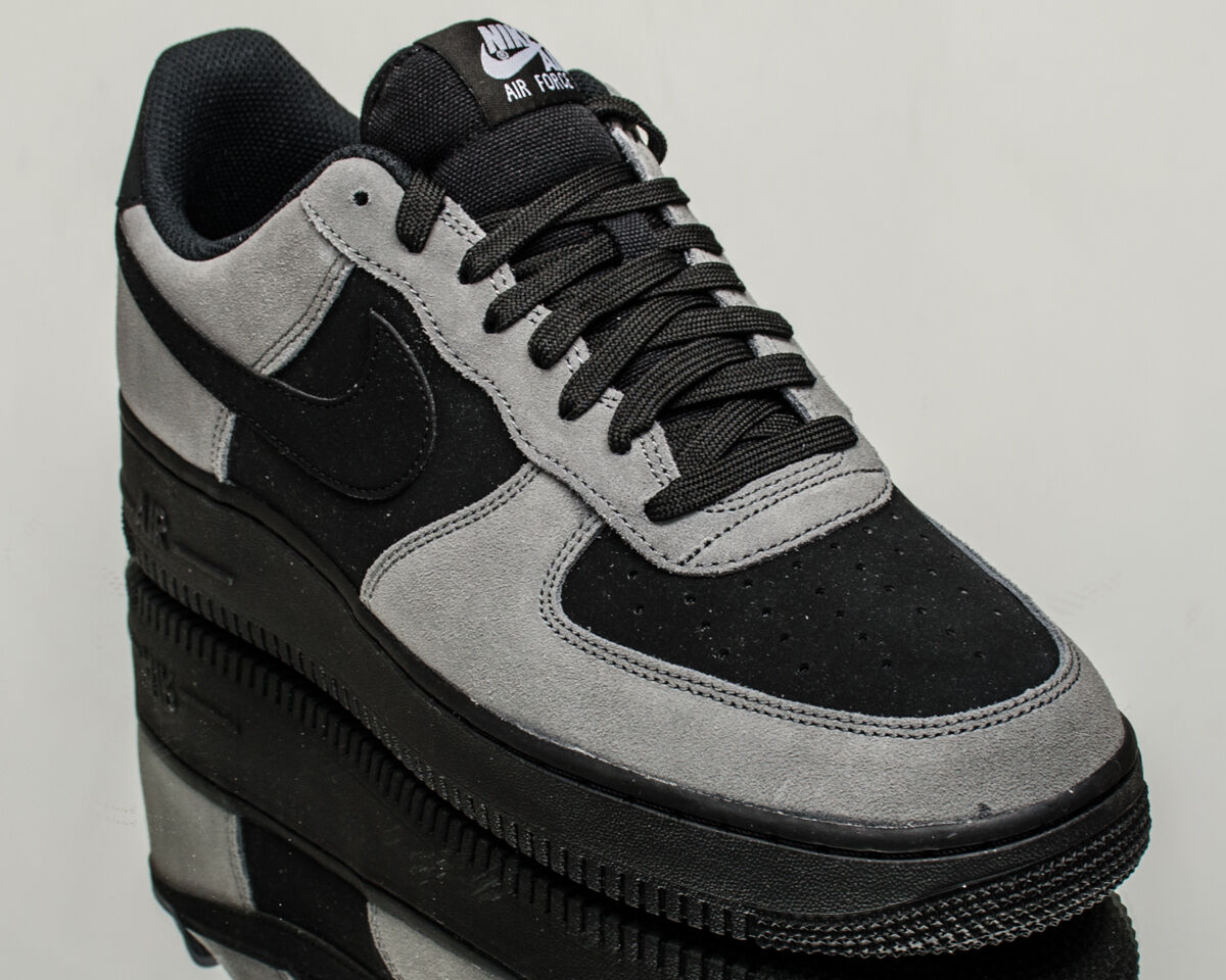 Nike Air Force 1 07 Low AF1 men lifestyle sneakers NEW grey 820266-020