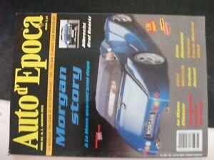 Revue-Auto-d-039-Epoca-Gennaio-2003-Le-Mans-Classic-Raid-Dell-Etna